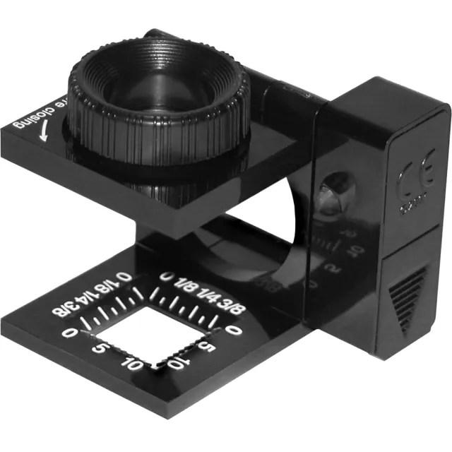 【CARSON 卡薾紳】LED針線折疊放大鏡(11.5x)