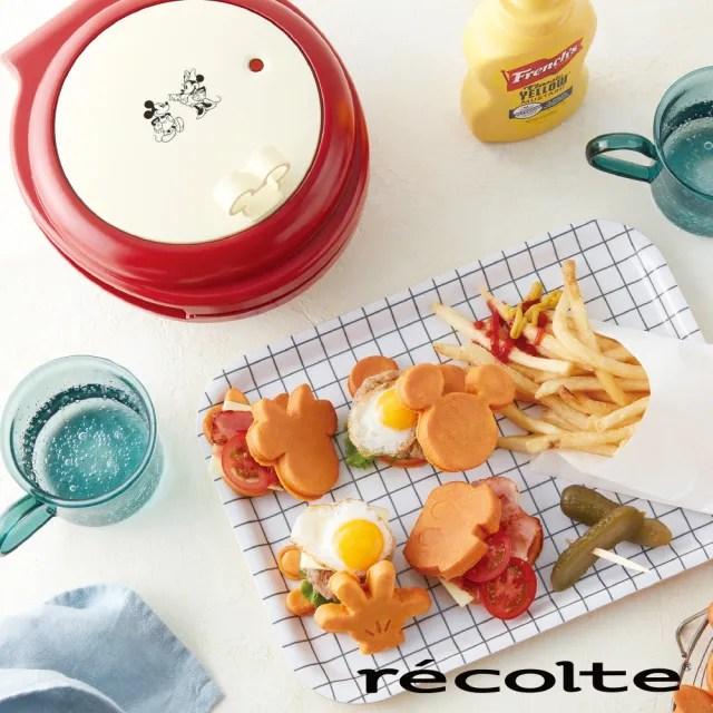 【recolte 麗克特】Smlie baker微笑鬆餅機 迪士尼米奇米妮系列(RSM-1)