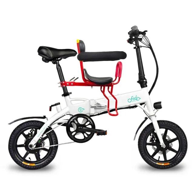 【趣野】FIIDO F1親子板 電動摺疊車 3種騎行模式 附快拆式兒童座椅(電動車 腳踏車 自行車 親子車)