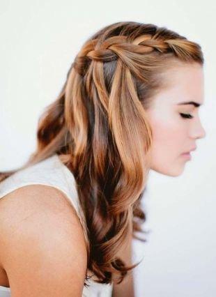 Причёски с распущенными волосами на длинные волосы — 143 ...