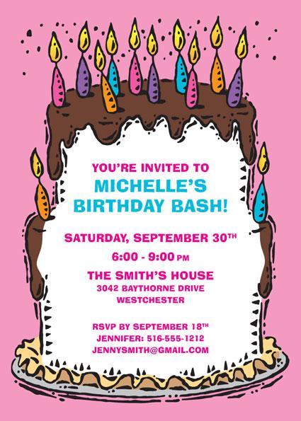Birthday Invitations Toddler