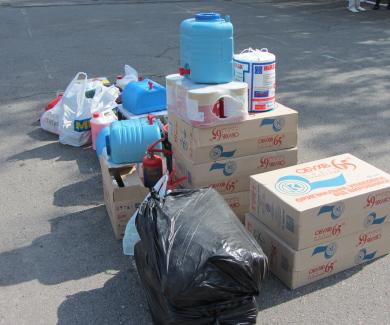 Підприємці Полтави передали матеріальну допомогу ...