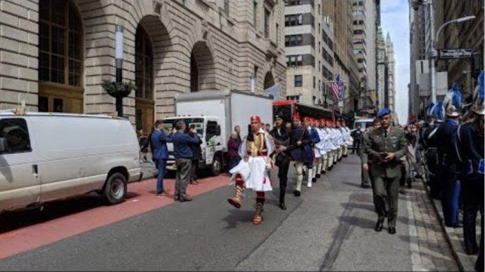 Ελληνική Παρέλαση στη Νέα Υόρκη - Greek Independence Day Parade in New York City