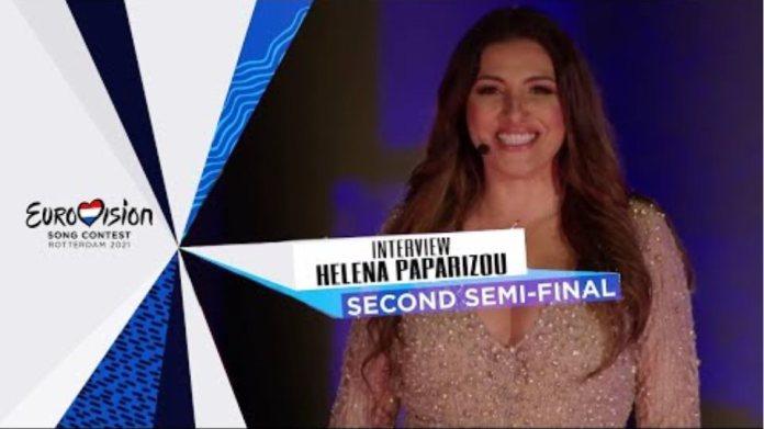 Helena Paparizou - INTERVIEW - Second Semi-Final - Eurovision 2021