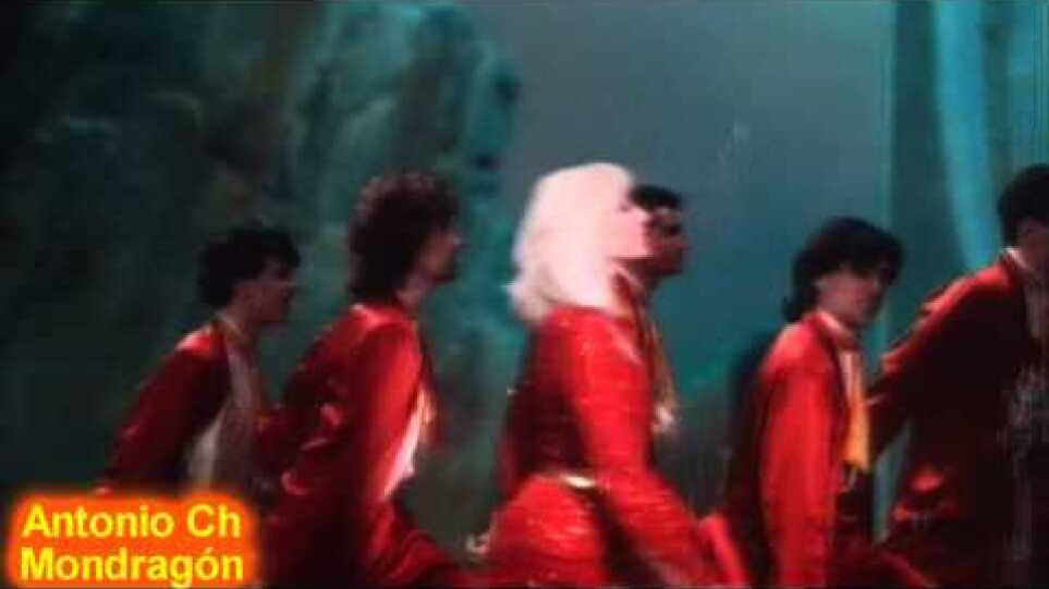 Raffaella Carrá - 1, 2, 3, 4 Dancing - R.C Show 1988 (with lyrics)