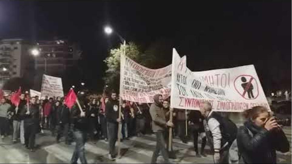 Πορεία κατά του Summit στη Θεσσαλονίκη -Voria.gr
