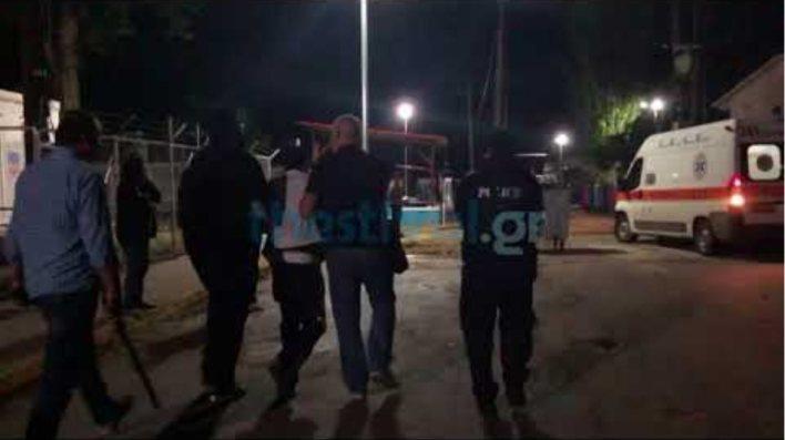 Thestival.gr Επεισόδια στο χώρο φιλοξενίας προσφύγων Λαγκαδικίων