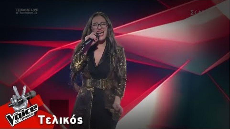 Κλαυδία Παπαδοπούλου - It's a Man's World | Τελικός | The Voice of Greece