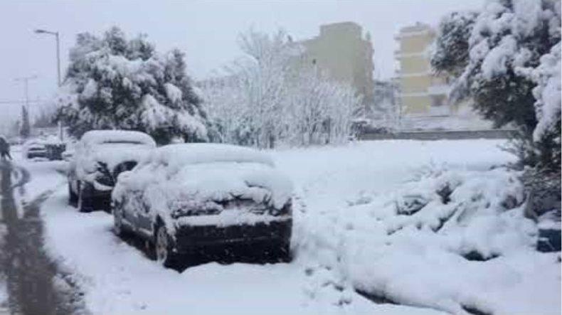 Χιόνια στο ΟΑΚΑ