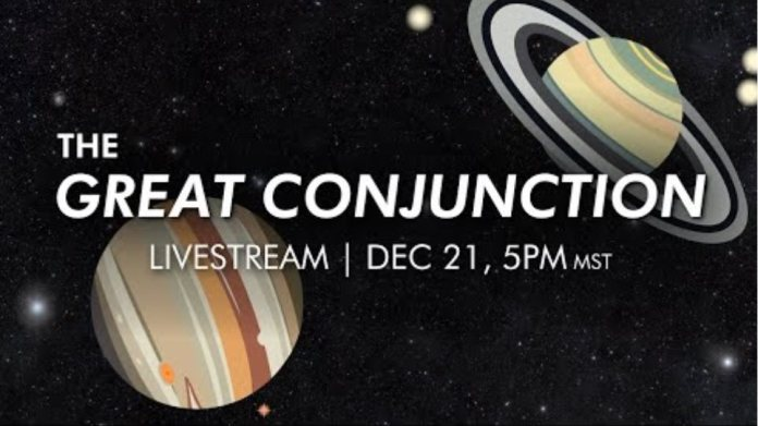 LIVE! See the Great Conjunction (Christmas Star) of 2020