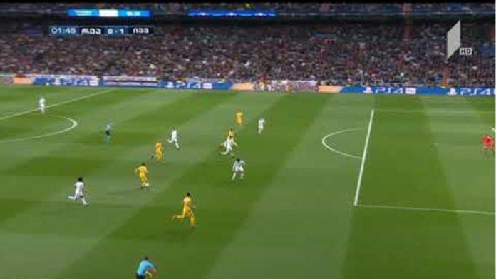 Mandzukic goal Real Madrid 0 - 1 Juventus