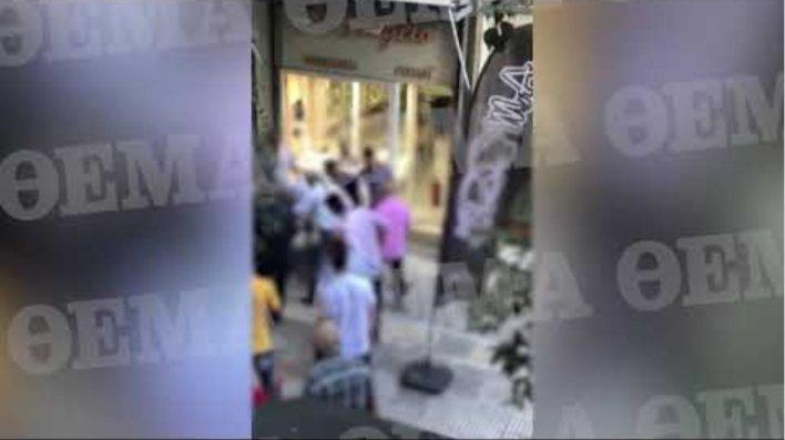 Βίντεο - σοκ από την απόπειρα ληστείας στην Ομόνοια με νεκρό τον δράστη