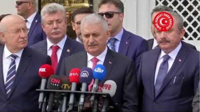 """Başbakan Yıldırım'dan flaş açıklama: """"Didim açıklarındaki kayalığa dikilen Yunan bayrağı …"""""""