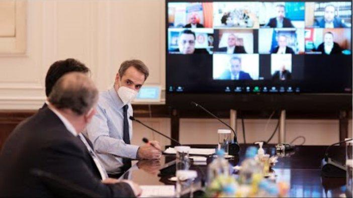 Σύσκεψη υπό τον Πρωθυπουργό Κ.Μητσοτάκη σχετικά με την παροχή χρηματοδότησης στον κλάδο της εστίασης