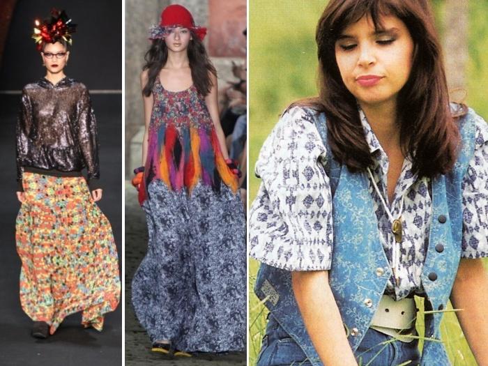 A personagem Tânia, vivida por Lídia Brondi, mostrava bem tendências da época, como mix de estampas e peças em jeans - ideias apresentadas em semanas de mo...