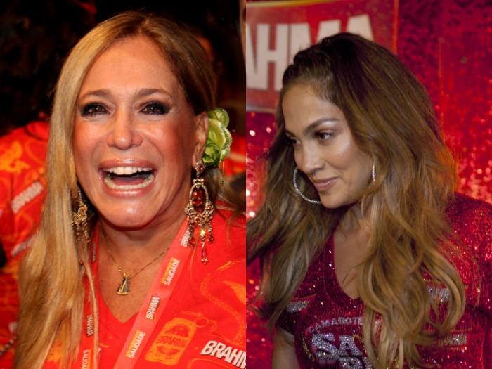 Susana Vieira e Jennifer Lopez