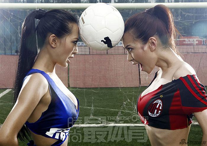 """Inter e Milan vão fazer a disputa da Supercopa na China, no estádio Ninho de Pássaro, no próximo sábado (6). Para dar uma """"esquentada"""" na disputa, os chine..."""