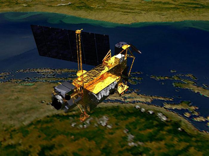nasa satelite terra 700x525