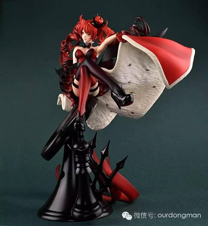《愛麗絲夢遊仙境》紅心皇后手辦 這腿能玩一年 - 壹讀