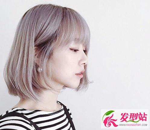 韓國時尚染髮顏色 2017年流行染髮髮型圖片 - 壹讀