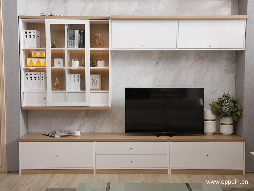 電視櫃書櫃一體設計 實用更有書香氣 - 壹讀