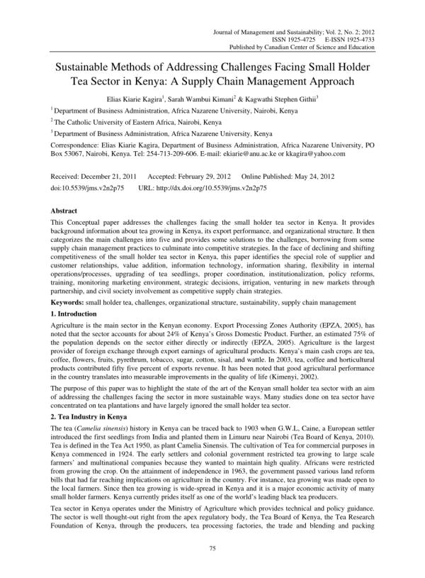 (PDF) Sustainable Methods of Addressing...