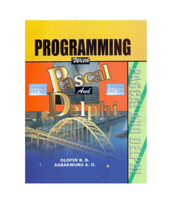(PDF) Programming with Pascal and Delphi