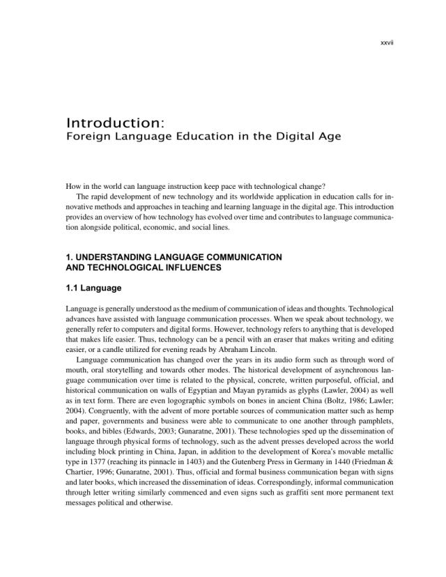 PDF) Handbook of Research on Foreign Language Education in the