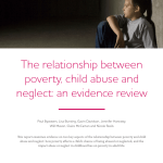 Pdf The Relationship Between Poverty Child Abuse And Neglect An Evidence Review
