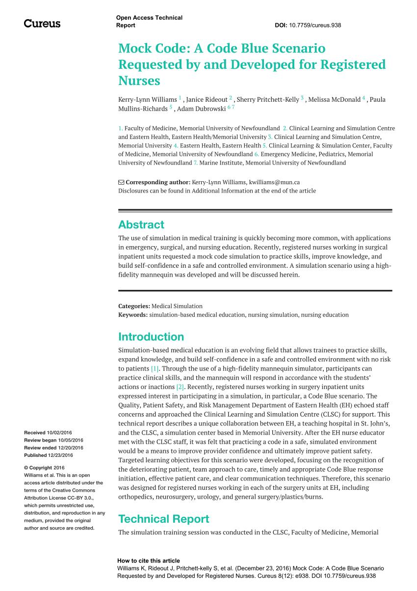 Blue Mock Checklist Code