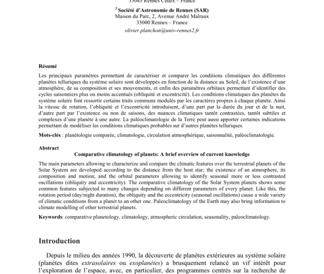 Pdf Formation Habitability And Detection Of Extrasolar Moons