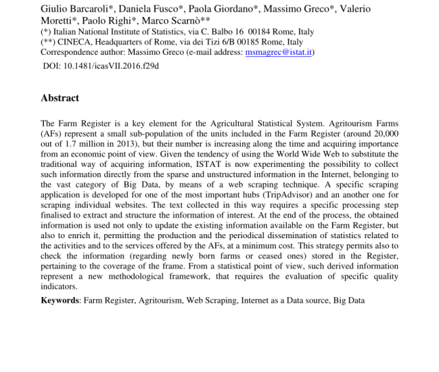 Pdf Agritourism For Rural Development In Italy Evolution Situation And Perspectives