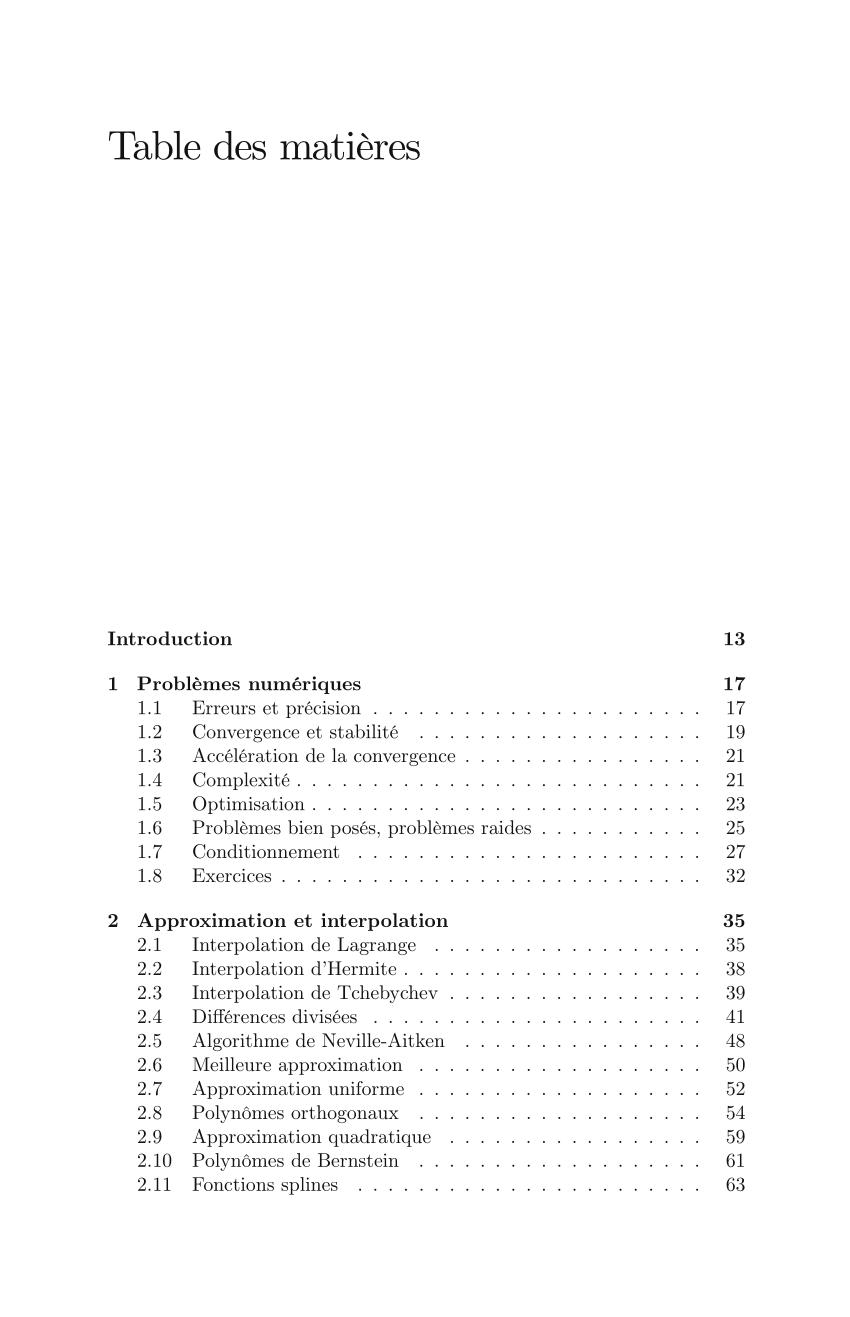 pdf introduction aux methodes numeriques
