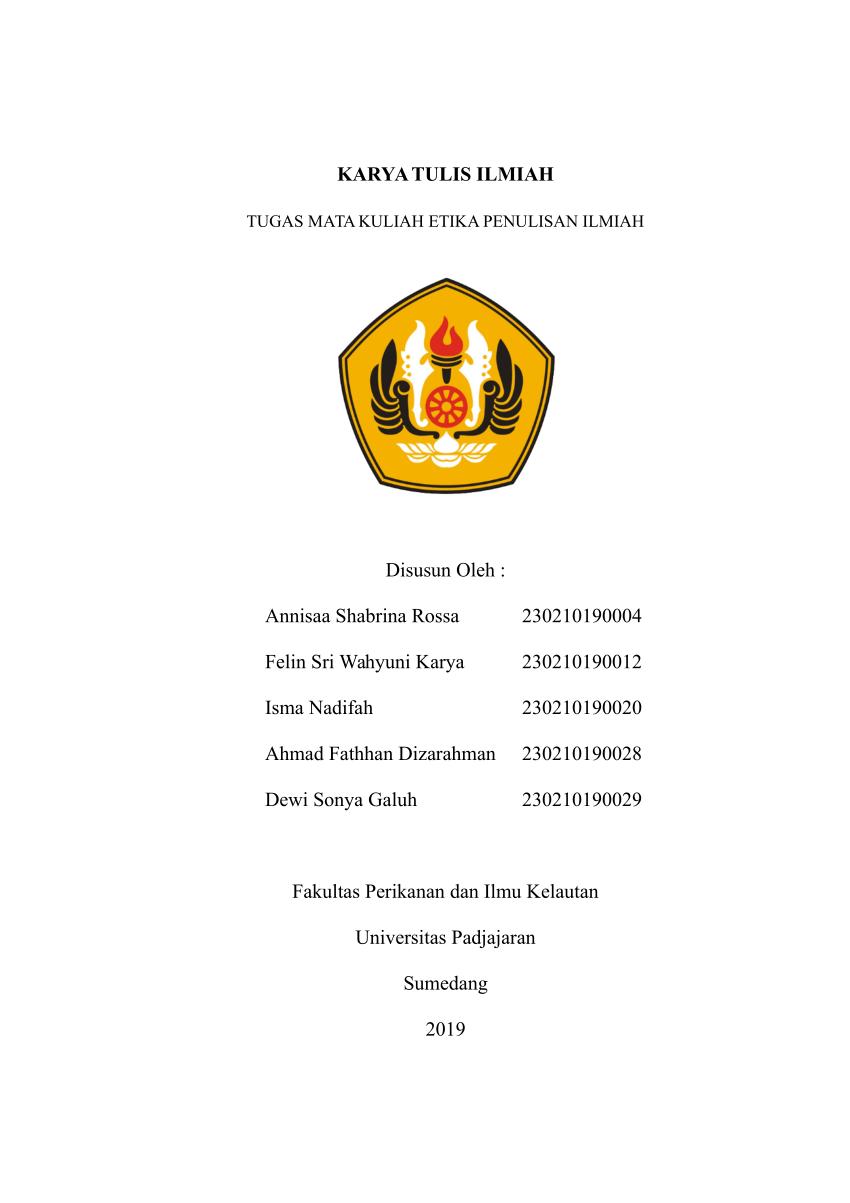 No title kunci jawaban bahasa indonesia kelas xi11 halaman 135 smasmk semester 2 revisi 2017 terbaru soal. Contoh Makalah Laporan Penelitian Hasil Penelitian Dan