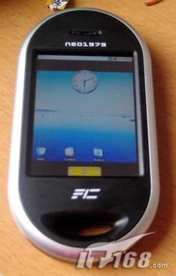 紧随GoogleG1第二款Android手机曝光