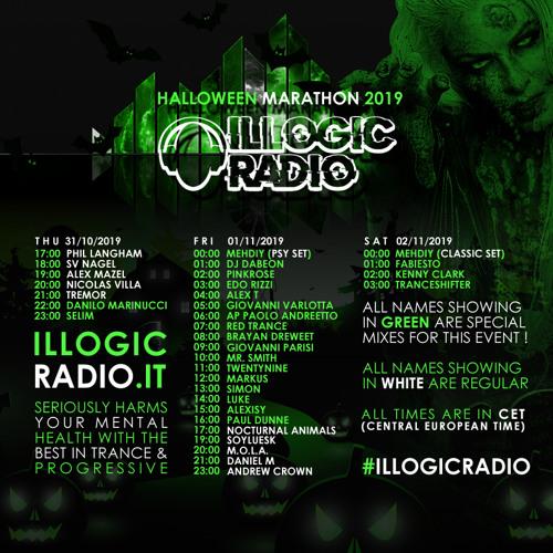 Mr. Smith – GUESTMIX For IllogicRadio Halloween Marathon @ 01-11-2019