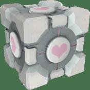 Resultado de imagem para companion cube
