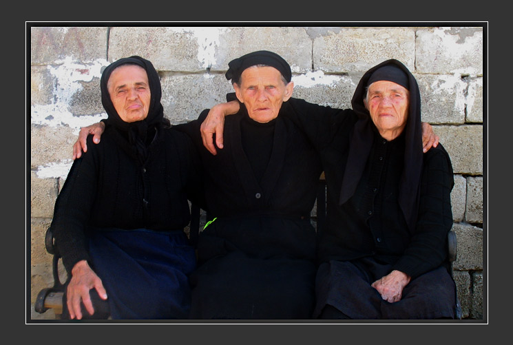 Albanian Old Ladies A Photo From Berat South TrekEarth