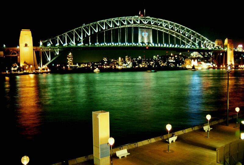 Sydney Harbour Bridge A Photo From New South Wales