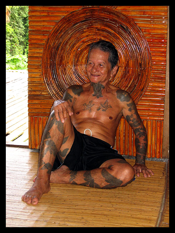 Iban Tattoos - Lemanak, Sarawak Previous Photo