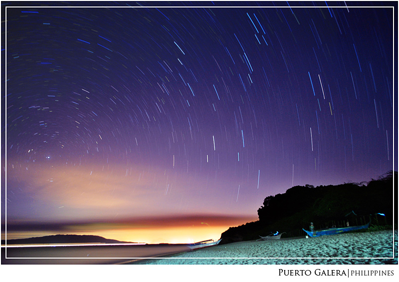 Stars of wonder, Stars of night, - Puerto Galera, Mindoro Oriental