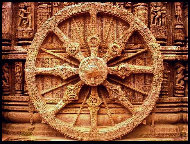 Image result for konark temple sundial