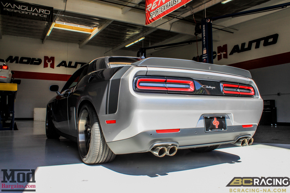 challenger scatpak gets low on bc