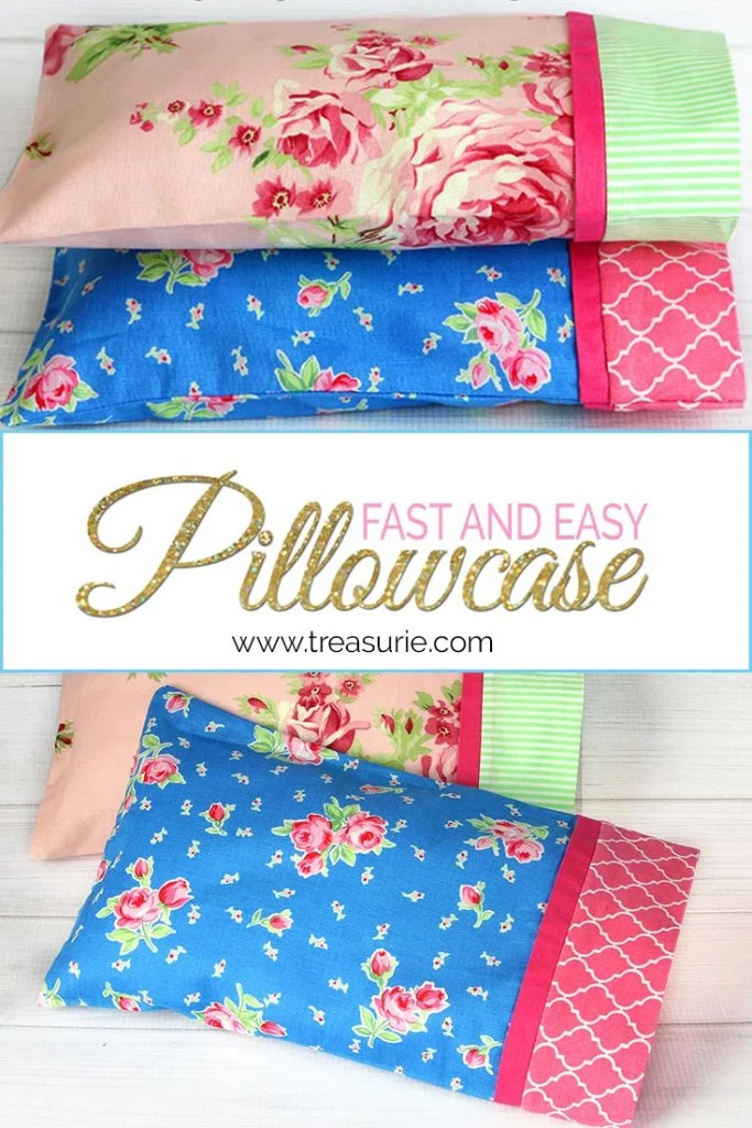 how to make a pillowcase easy pattern