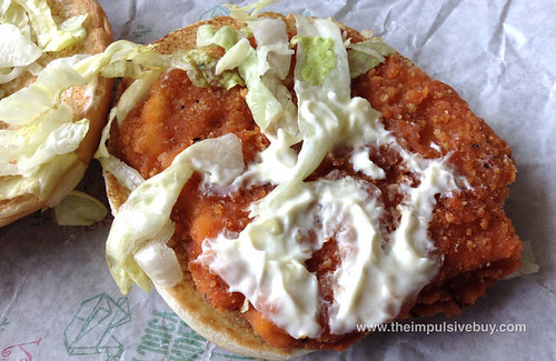 REVIEW: McDonald's Hot 'n Spicy McChicken Sandwich - The ...