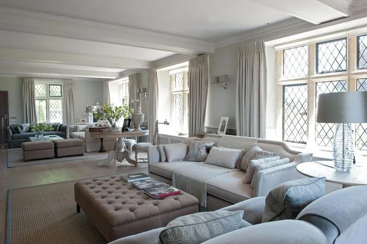 how to plan a rectangular sitting room
