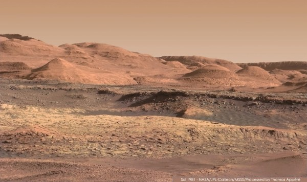 Stunning new panorama of the foothills of Mount Sharp on ...