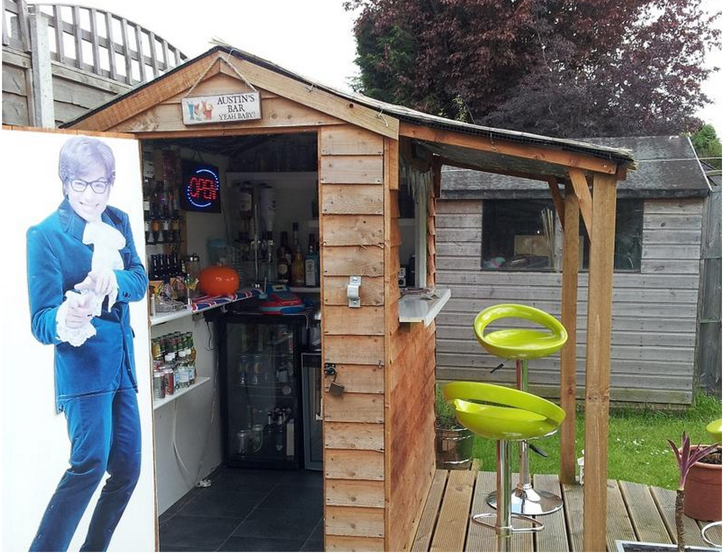 Is America Ready For A Bar Shed Invasion? - Food Republic on Small Backyard Bar Ideas id=25685