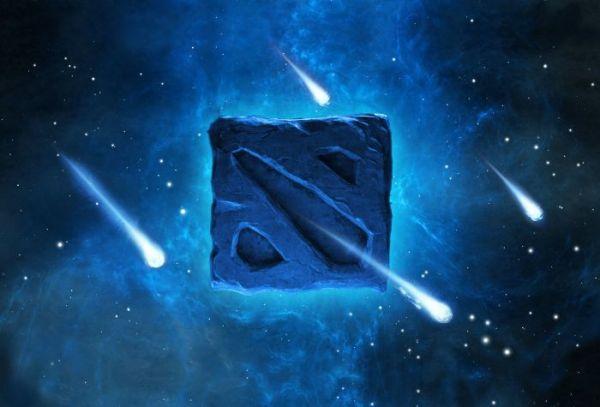 Картинка Дота 2 (Dota 2), эмблема, звезды, игра на рабочий ...
