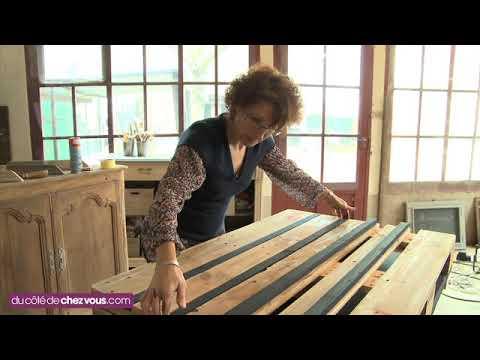 Fabriquer Une Table Basse Avec Une Palette YouTube